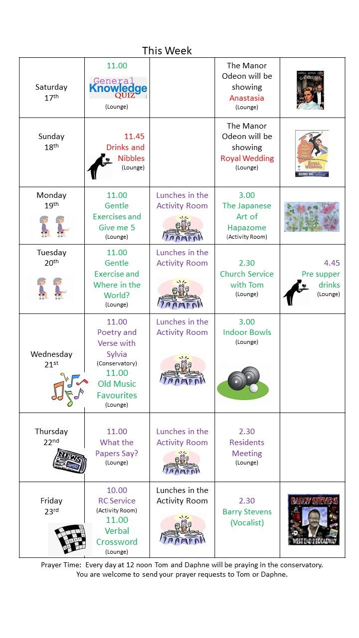 schedule july 2021 [Autosaved]
