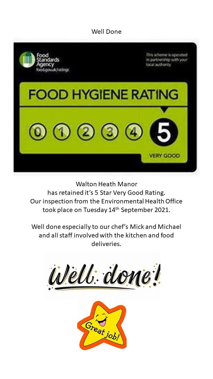 food hygeine rating for website